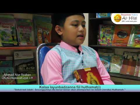 Hafalan Al-Qur'an Santri Al-Hilal