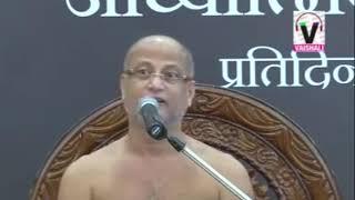 मरता कौन हैं जीव या शरीर जाने इस प्रवचन में- Jain Parvachan !!  Muni Pulak Sagar