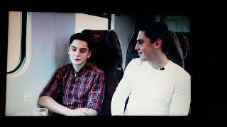 Adam i Wojciech Kaczmarek   -Wywiad w pociągu.