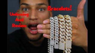 Unboxing New Iced Out Cuban Link Bracelets And Review | Astroice Jewelry