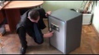 Как открыть сейф с электронным замком !! Часть 3