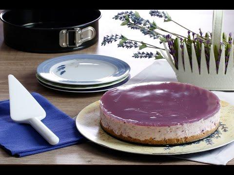 Lavantalı Cheesecake
