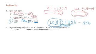 Grade 6 Module 4 Lesson 1 Problem set
