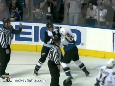 Vincent Lecavalier vs. Matt Pettinger