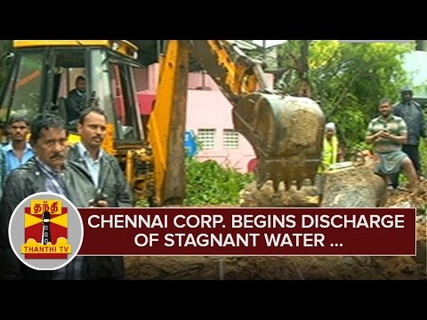 Chennai-Corporation-begins-Discharge-of-Stagnant-Water--Thanthi-TV
