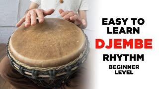 Easy to Learn Djembe/Hand Drum Rhythm: Rock Beat