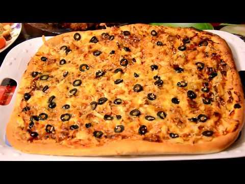 Пицца с курицей терияки / Оооочень вкусно и просто!