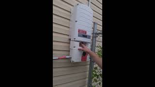 Solaredge solar PV system not communicating with online