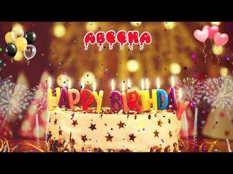 ABEEHA Birthday Song – Happy Birthday Abeeha