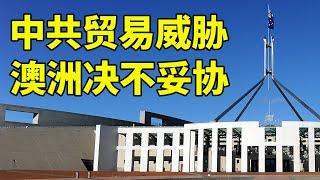面对贸易威胁与中共党员渗透 澳洲外长:决不妥协