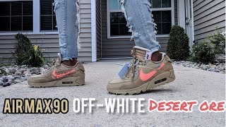 best sneakers 548d5 bac0b off white desert ore on feet - Free video search site ...