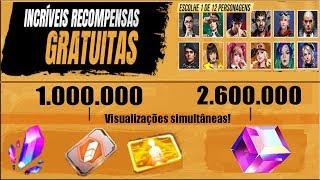 Garena Muda Premiações da Live do Mundial, Chance de Cubo Mágico Para Todos e Personagem Grátis!
