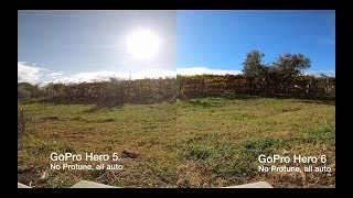 GoPro Hero 5 VS 6