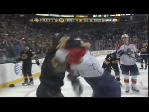 Chuck Kobasew vs. Keith Ballard