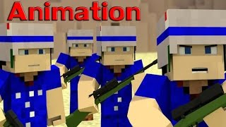 Gunboat  Minecraft Animation   Boom Beach