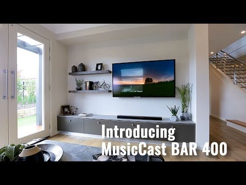Yamaha MusicCast BAR 400 Sound Bar