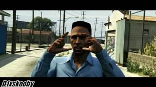 GTA 5 |Boyz N' The Hood| Ricky gets shot scene
