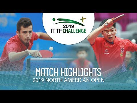 Can Akkuzu vs Xiang Peng | 2019 ITTF North American Open Highlights (Final)