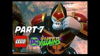 LEGO DC Super Villains Walkthrough Gameplay Part 7 - Gorilla Grodd (Let