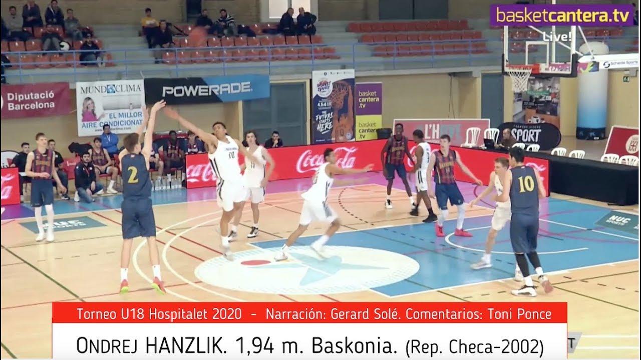 ONDREJ HANZLIK. 1,94 m. Baskonia. Rep. Checa-2002 (BasketCantera.TV)