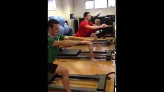 RunWell Clinic - Reformer Pilates Lunge Sequence
