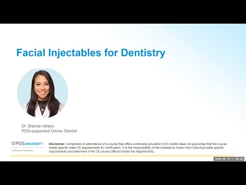 Facial Injectables for Dentistry - YouTube