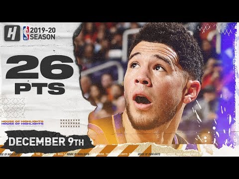 Devin Booker 26 Pts Full Highlights |  Timberwolves vs Suns | December 9, 2019