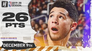 Devin Booker 26 Pts Full Highlights    Timberwolves vs Suns   December 9, 2019