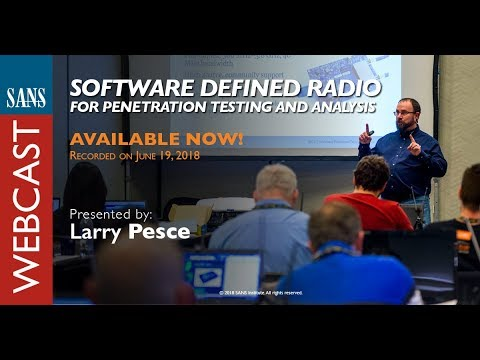 SANS Webcast: Software Defined Radio for Penetration ... - YouTube