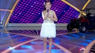 感動泣ける動画天使の歌声少女ブラジルの番組で歌いました愛は花君はその種
