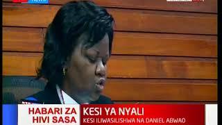 Kesi ya Nyali:Jaji Lydia Achode atoa uamuzi