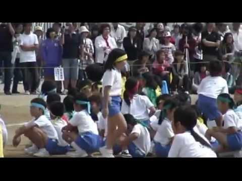 (2011/10/01)岡山市立御南小運動会「DUSH!全開ランナー」