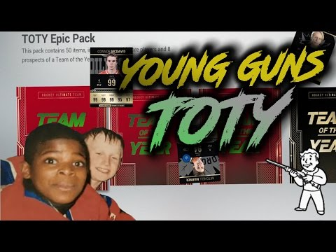 NHL 17 PACK OPENING GIVEAWAY - TOTY - Young Guns