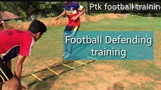 Football Defending training
