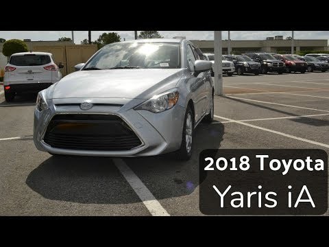 2018 Toyota Yaris IA Walk Around