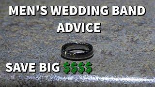 Mens Wedding Band Advice
