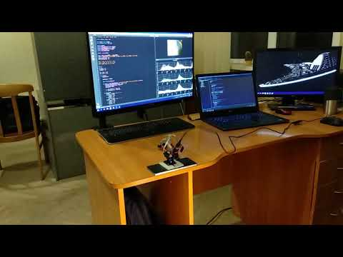 Simple object tracking system with OpenMV - смотреть онлайн
