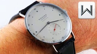 Nomos Glashutte Metro Neomatik 39 (1113) Luxury Watch Review