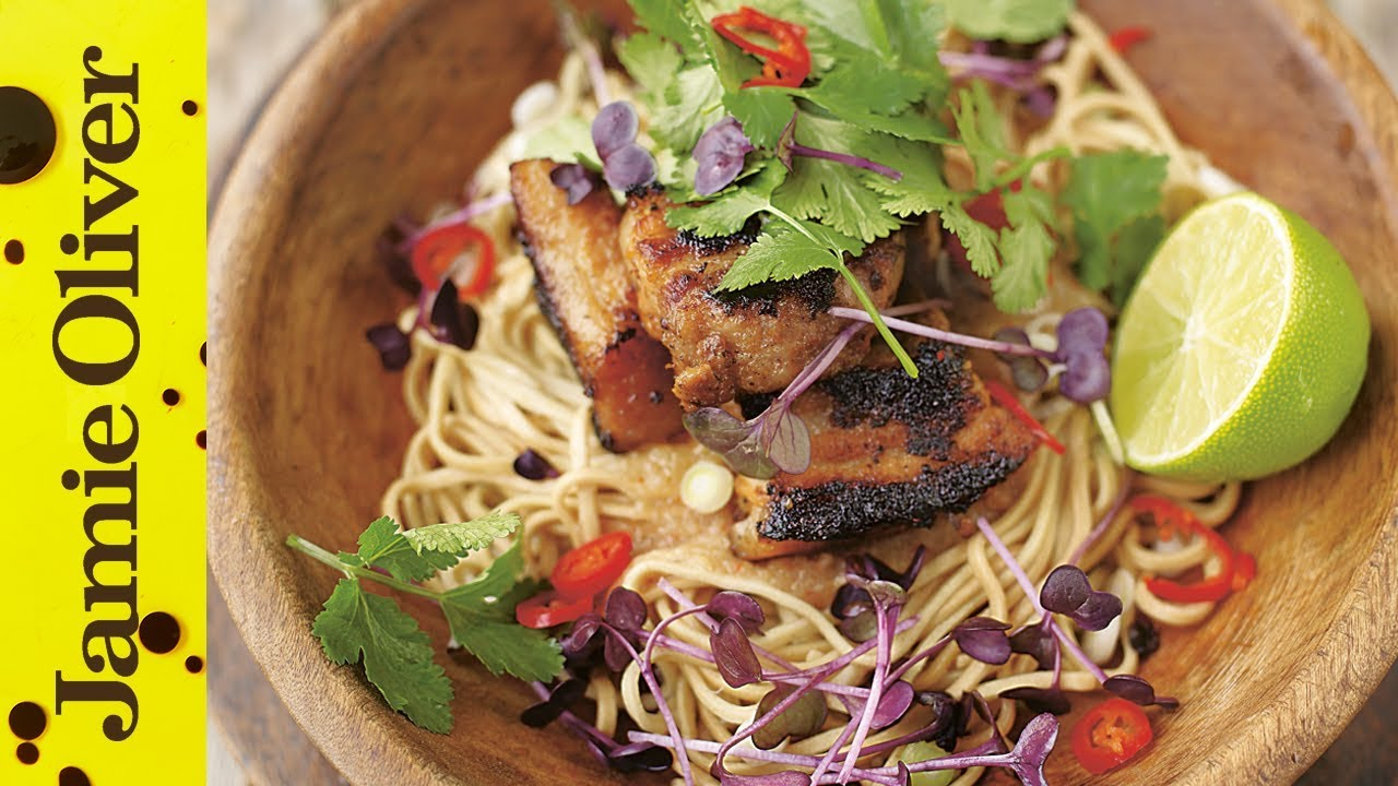 Jamie at home recipes jamie oliver crispy pork with noodles jamie at home forumfinder Image collections