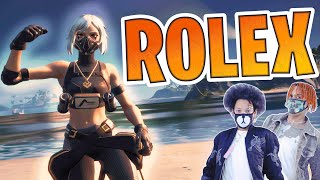 """The BEST """"ROLEX"""" Fortnite Montage... (Ayo & Teo)"""