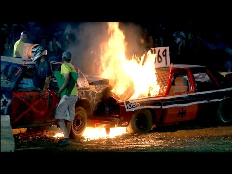Demolition Derby - Carroll County 4H & FFA Fair 2016