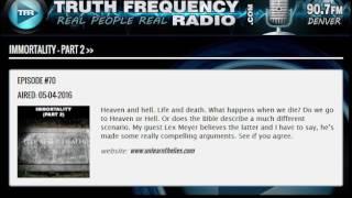 TFR - Revolutionary Radio w/ Lex Meyer: Immortality Part 2
