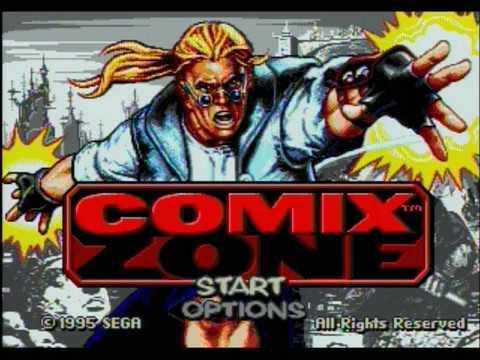 Comix Zone (Sega MegaDrive, 1995) ~ Česky ᴴᴰ