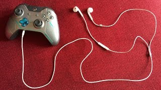 How to use Apple headphones on the Xbox One (BUZZING NOISE FIX)