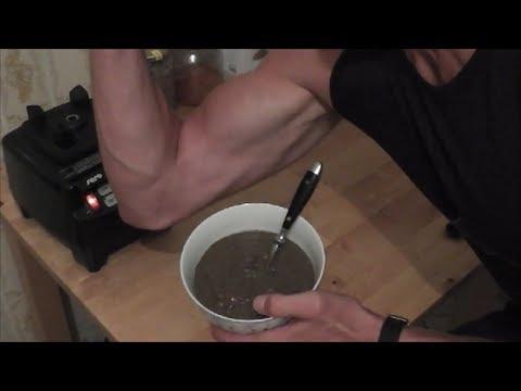 Vegane Rohkost: Gesunder Pflanzen Protein Pudding für nach dem Training!