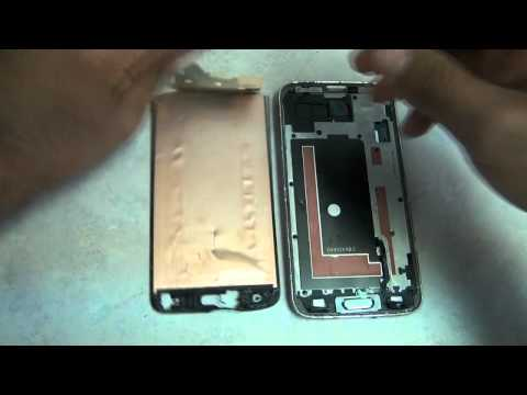 Samsung Galaxy S5 Touch Screen Glass Digitizer & LCD Display Repair Replacement Guide