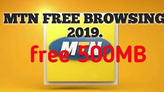 how to get free 500mb from mtn app - मुफ्त ऑनलाइन