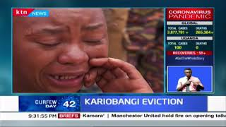 Several families spend nights in the cold three days after Kariobangi demolitions
