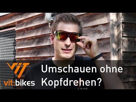 Trieye - Brille mit eingebautem Rückspiegel - vit:bikesTV 194