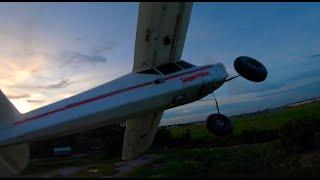 Kn FPV Plane Chasing